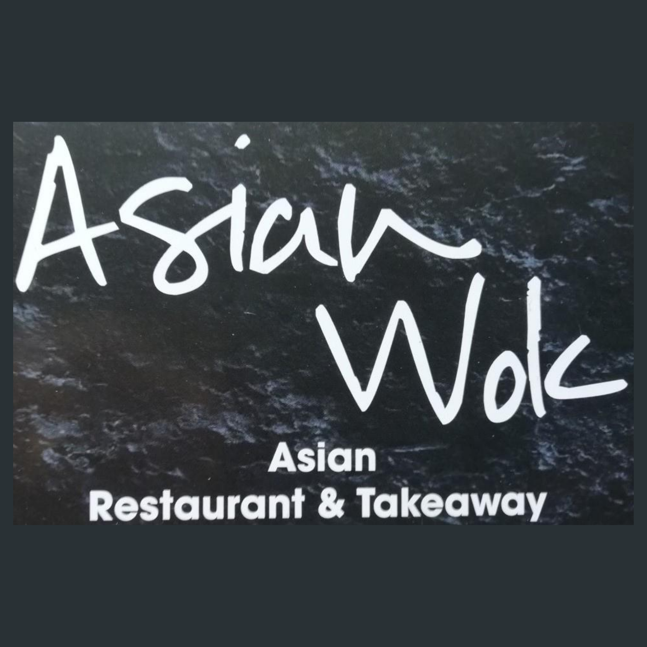 Asian Wok Take Away Menu Online